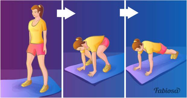 7 нехитрых упражнений, которые помогают убрать жир на животе