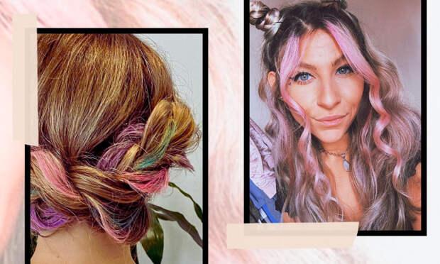 Временное окрашивание: как легко сменить цвет волос на несколько дней