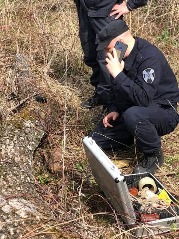 Под Рязанью нашли неразорвавшийся артиллерийский снаряд