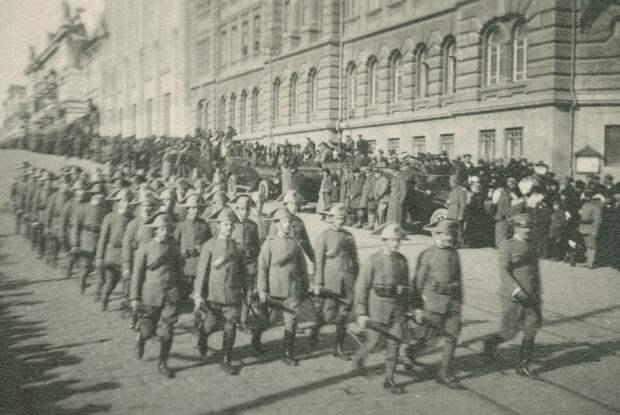 Марш итальянских солдат
