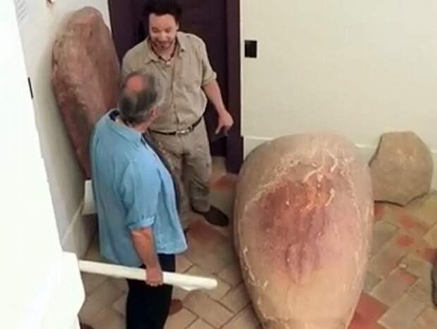 Найдено древнее «инопланетное яйцо» с изображением спирали ДНК