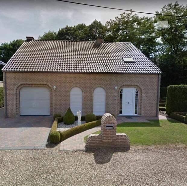 Нестандартная архитектора из Бельгии: 15 странных и уродливых зданий
