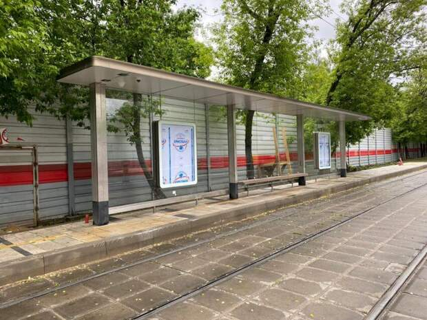 Будут ли обустроены подходы к остановке на улице Константина Царева? Фото: управа района Сокол