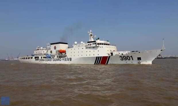 Китай разрешил береговой охране жестко атаковать американские корабли без предупреждения