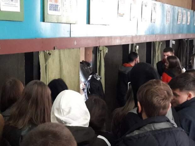 учащиеся IX классов посещали День открытых дверей в БГМТК.