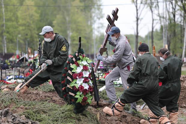 Конкурс по рытью могил провели в Новосибирске
