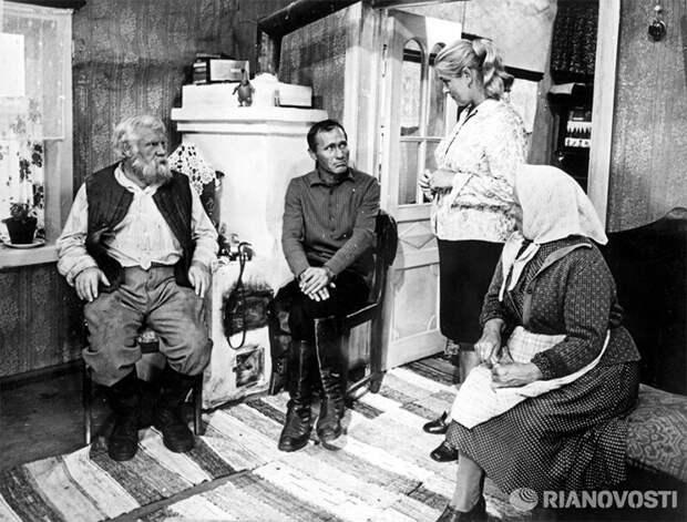 """Почему Василий Шукшин снял """"Калину красную"""" Шукшин, история, кино"""