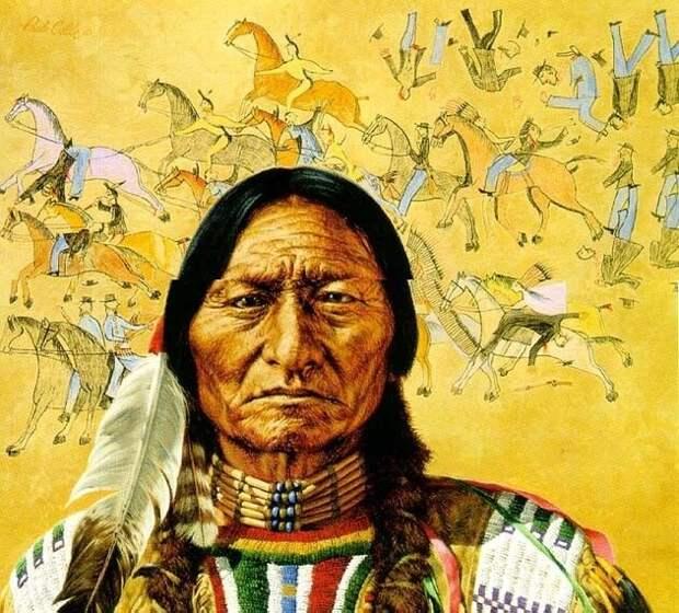 Первые индейцы пришли на континент из Сибири