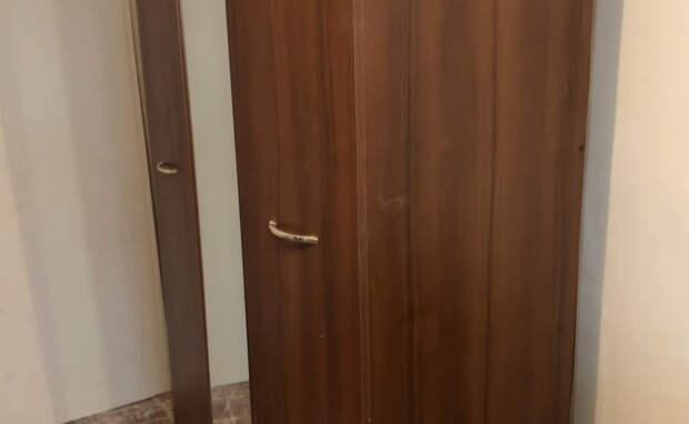 Стильная переделка старого шкафа в скандинавском стиле