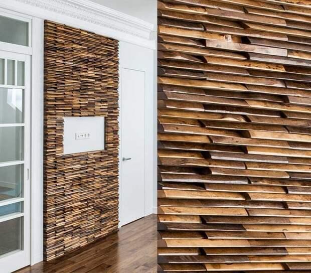 На стене...дрова (большая подборка)