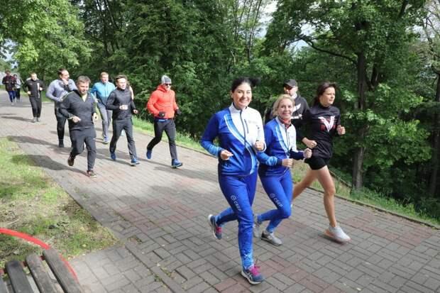 ВНижнем Новгороде прошла общественная пробежка впреддверии Зеленого Марафона