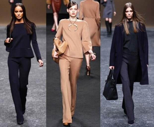 История женских брюк