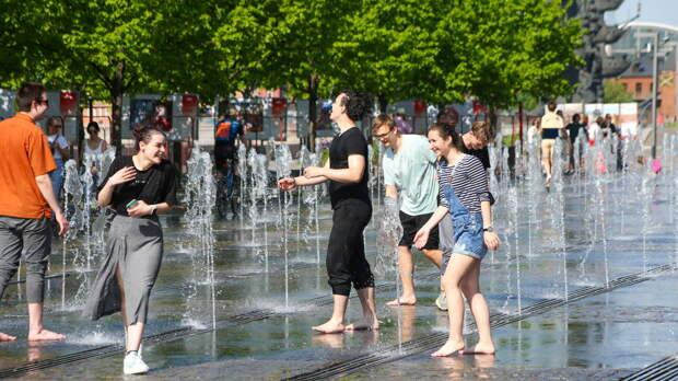 Температура в Москве побила рекорд майской жары