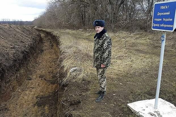 Копать глубже, кидать дальше: Глава погранслужбы Украины отчитался об обустройстве границы с Россией