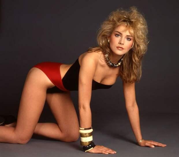 Какой была Шэрон Стоун в 1983 году? 8 фото