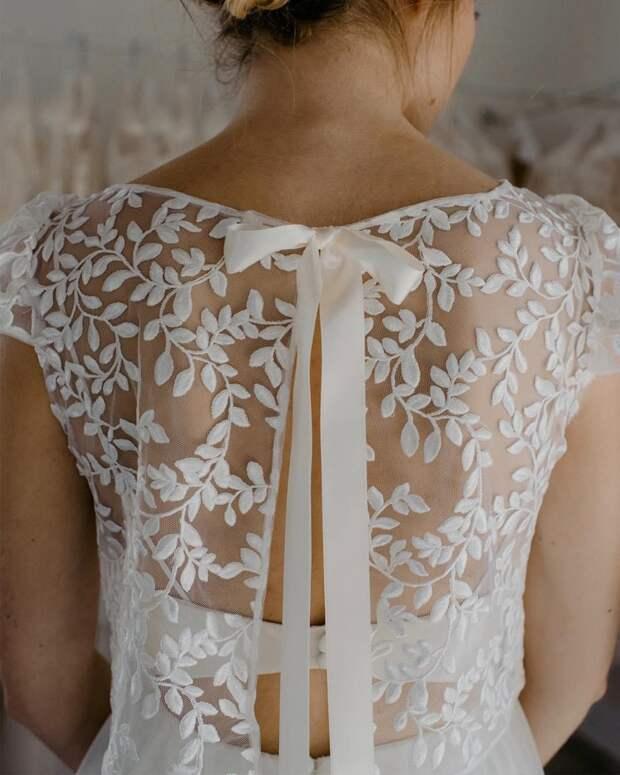 Идеи изумительных спинок для платьев 2