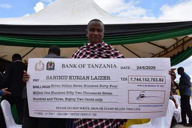 Многодетный отец из Танзании нашел два уникальных камня и сразу стал миллионером