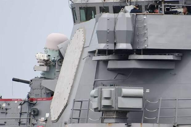 Надводные корабли: уклониться от ПКР