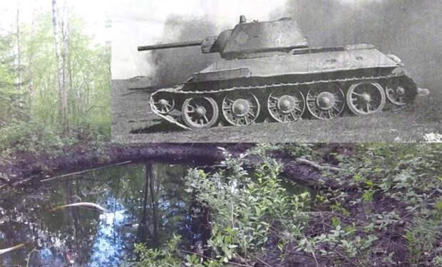 Нашли Т-34, пропавший в болотах: погружение за амуницией и боеприпасами
