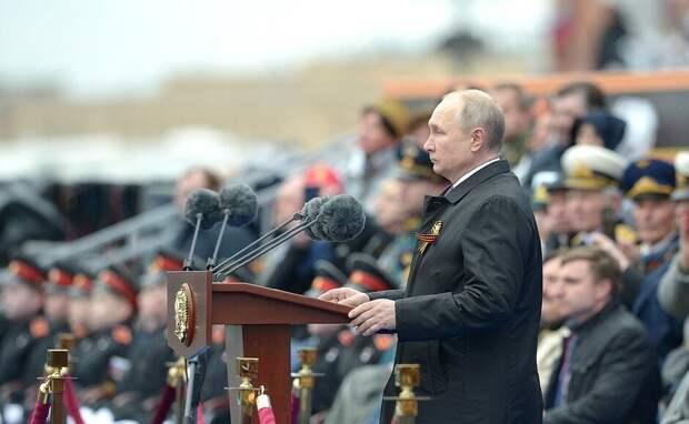 Путин всё правильно сказал: в самых трудных битвах мы были один на один с Германией