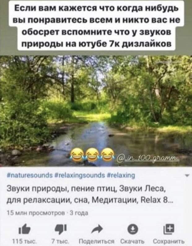 юмор про природу