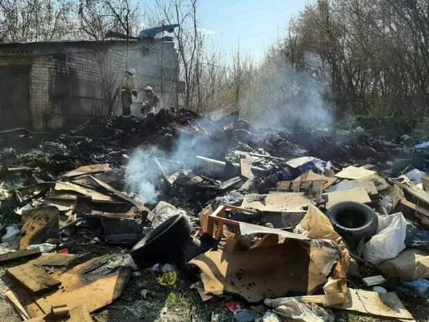 В Железногорске за вечер произошло три пожара