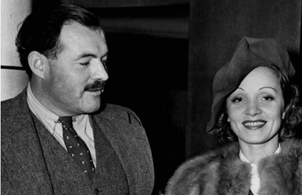 Марлен Дитрих: «Моя любовь к Хемингуэю не была мимолётной привязанностью»