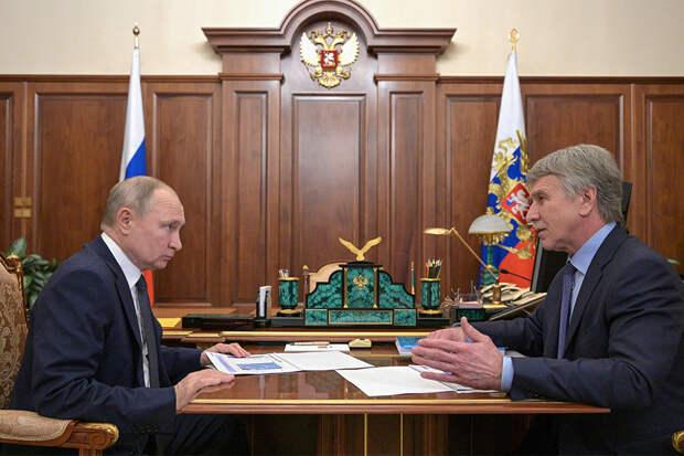 Путин оценил работу по созданию сети заправок на сжиженном газе