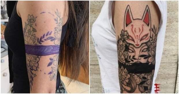 Как исправить неудачную татуировку: 9 крутых преображений