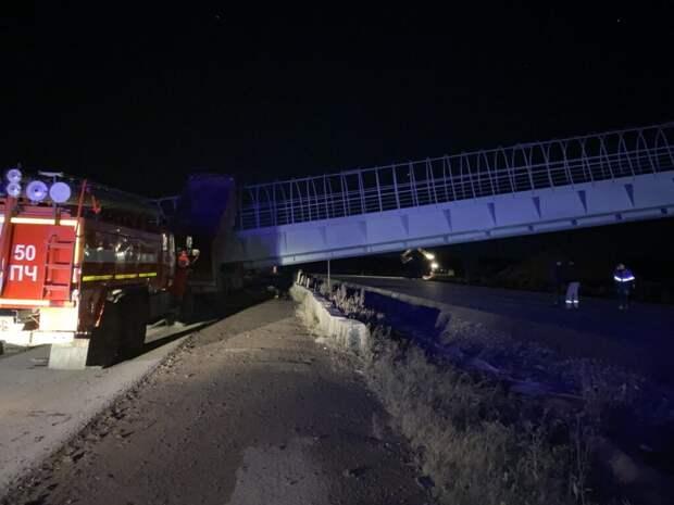 Два человека погибли при обрушении перехода под Пермью