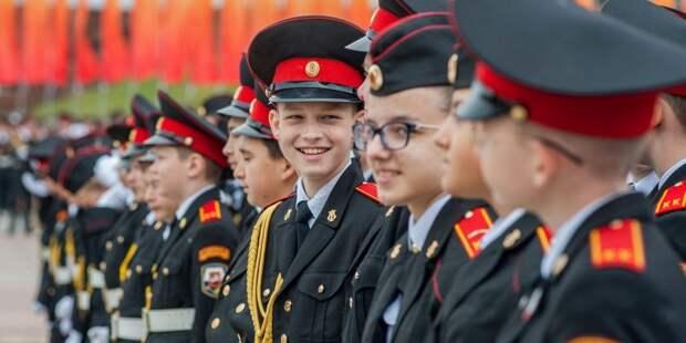 Четверых кадетов «Перспективы» наградили погонами с новыми лычками