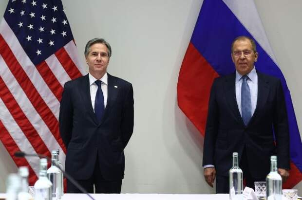 Захарова назвала встречу Лаврова и Блинкена содержательной