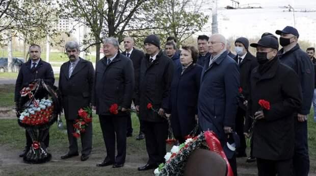 В Минске почтили память Героя Советского Союза Наджафгулу Рафиева.
