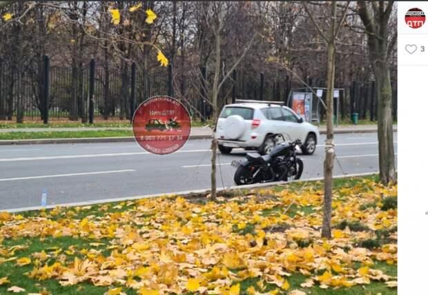 «Лежачий полицейский» выбил из седла мотоциклиста в Батайском проезде