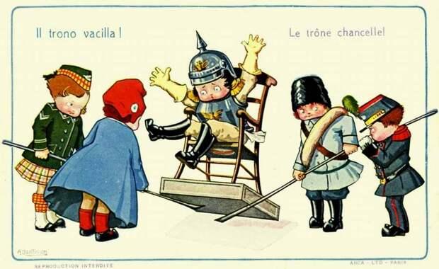 Его трон шатается - Aurelio Bertiglia 1914