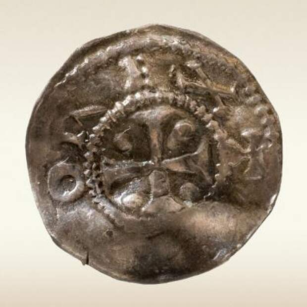 Денарий, Оттон III (983–1002). Кельн
