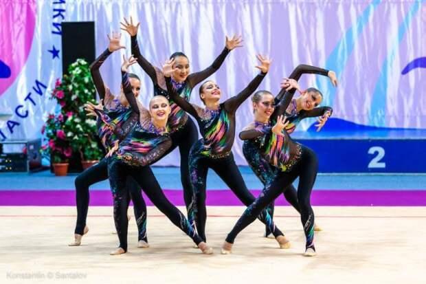 Гимнастки из университета транспорта на Образцова победили в международном турнире