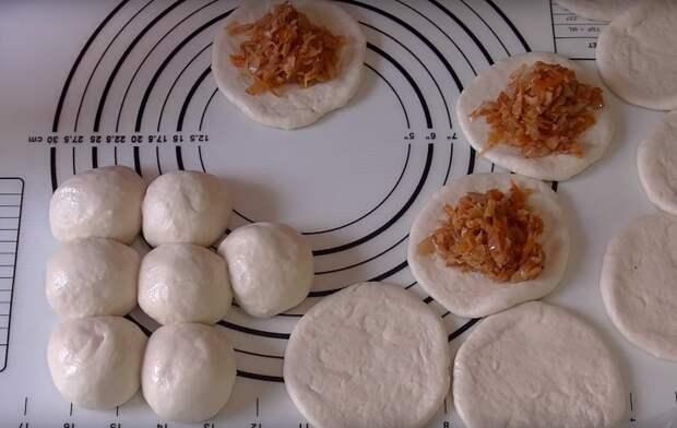 пирожки с капустой готовим