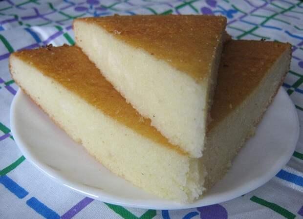 Быстрый пирог на манке