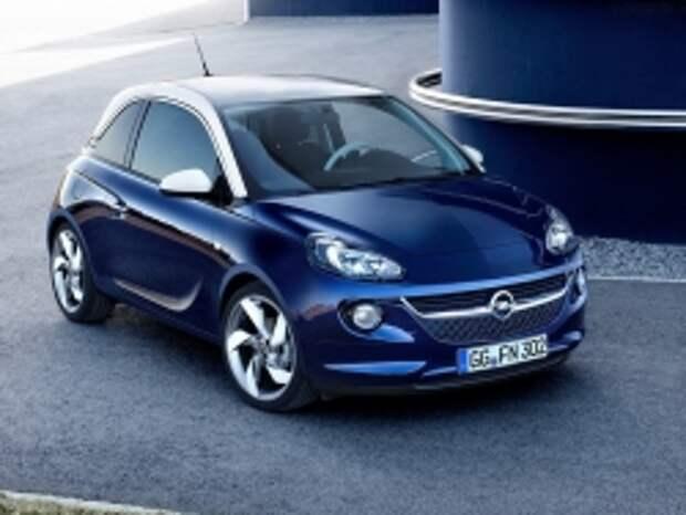 Компания Opel в следующем году привезет хэтчбек Adam в Россию