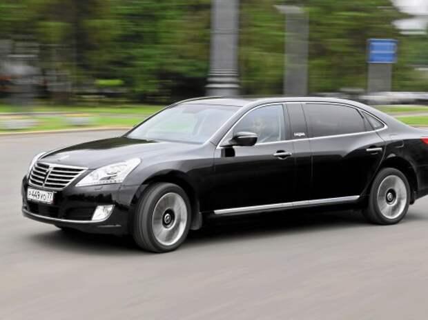 Hyundai Equus Limousine: релакс и уважуха