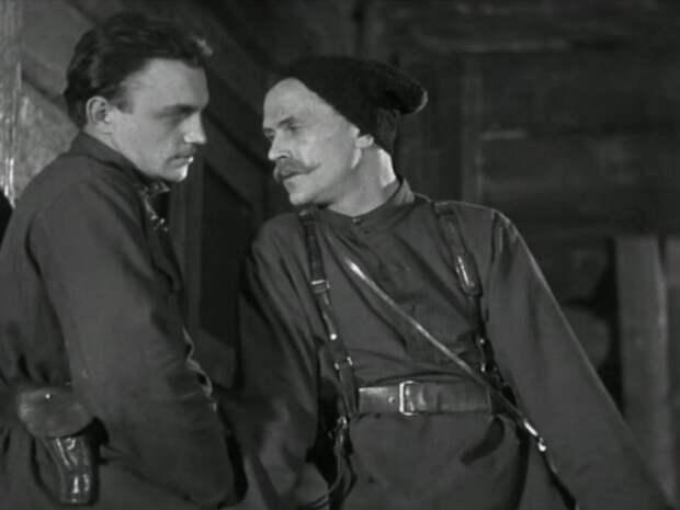 Кадр из фильма «Чапаев» (1934)