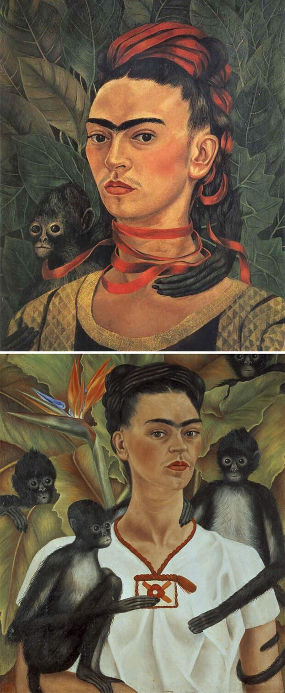17. Если каждая картина - это лицо монобровой женщины, это Фрида.