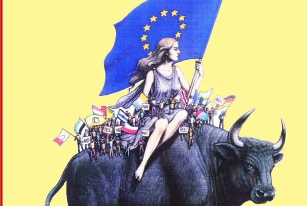 Похищение 3.0: Европы, России, идей