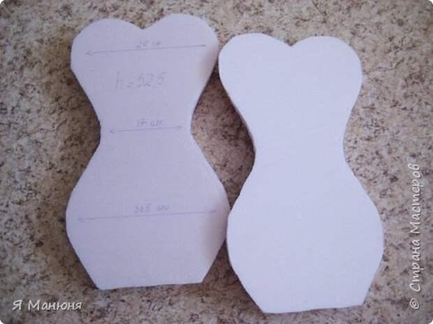 Мастер-класс Поделка изделие Моделирование конструирование Из чего же из-чего  Сделаны наши девчонки Бумага гофрированная фото 3