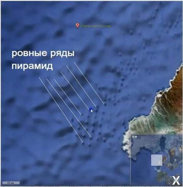 Пирамиды на карте 2009 г.