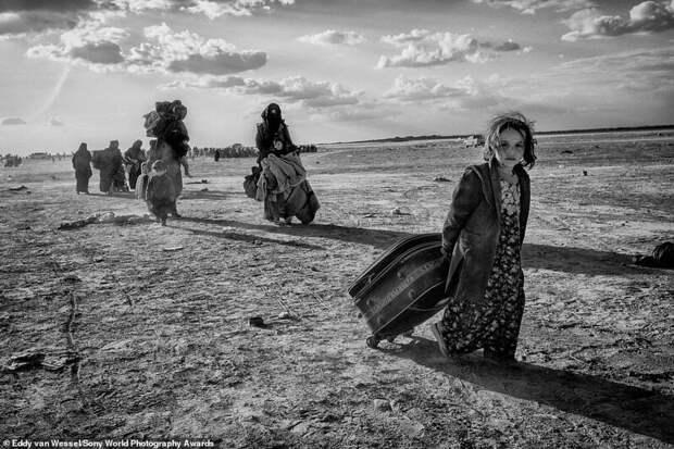 Сирийские беженцы из Аль-Багхуза - Эдди ван Вессел, Нидерланды