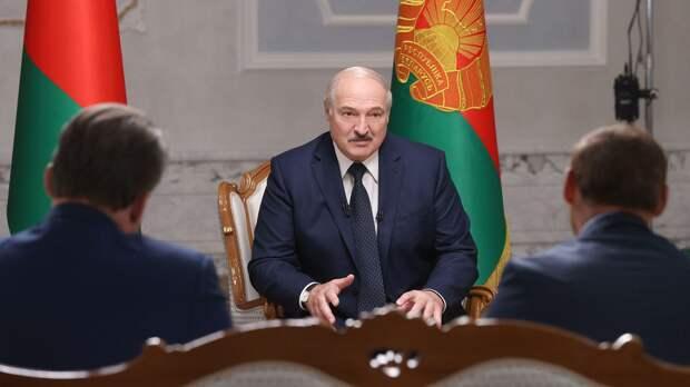 Текстовая расшифровка большого интервью Лукашенко о ситуации в Белоруссии