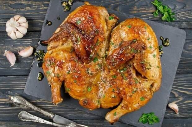 Курица по-аджарски. Вкуснейшее блюдо, которое еще и красиво смотрится 2