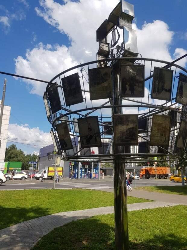 Архивные фотографии Лианозова можно увидеть возле метро «Алтуфьево»